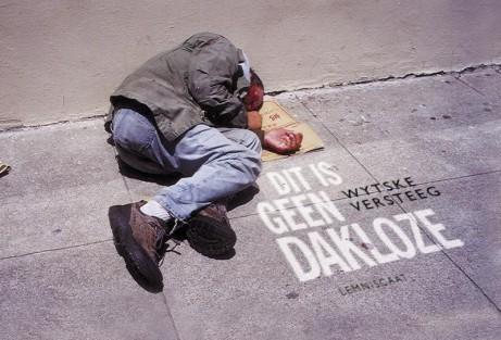 Dit is geen Dakloze